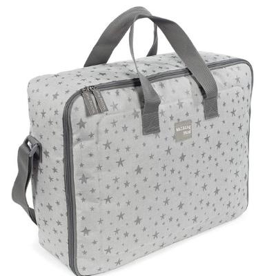 Bolso maleta gris
